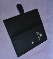 Large-Leather-Scorecard-Holder-with-Magnetic-Clip-Black---Outside-View